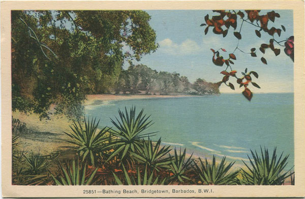 PECO Bathing Beach, Bridgetown, Barbados, B.W.I. - 25851