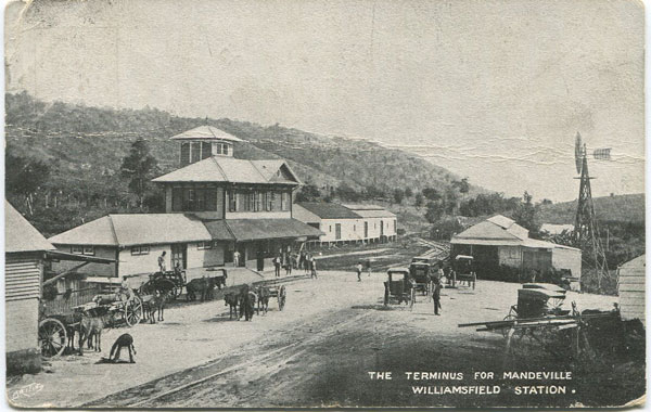 ANON The Terminus for Mandeville Williamsfield Station.