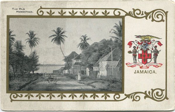 HERALDIC SERIES The Old Homestead, Jamaica.