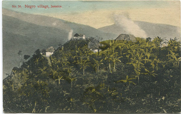 J.W. CLEARY No 34 Negro Village, Jamaica.