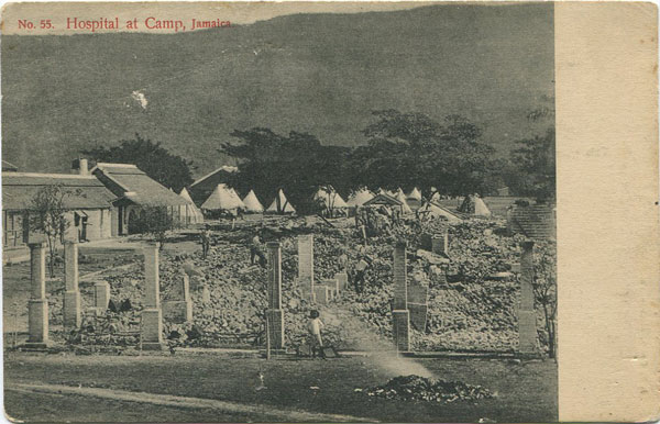 J.W. CLEARY Hospital at Camp, Jamaica.