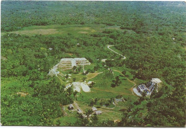 CUBOLA POSTCARDS Altun HA. A Maya City-State and ceremonial center that flourished 10 to 17 centuries ago - No 29