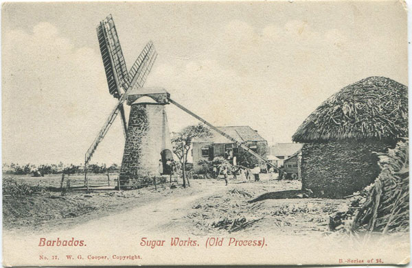 W.G. COOPER Barbados. Sugar Works. (Old Process) - No 17