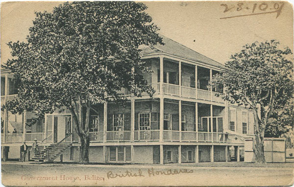 ANON Government House, Belize.