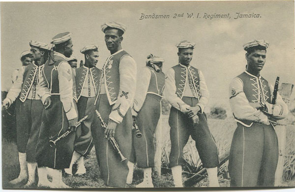 NATHAN & CO LTD Bandsmen 2nd W.I. Regiment, Jamaica