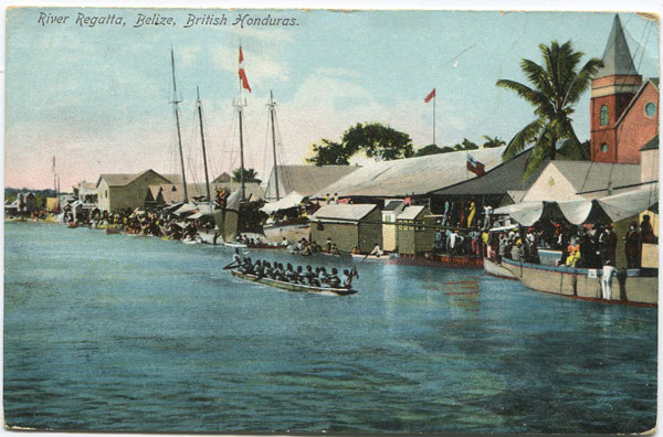 BEATTIE & CO River Regatta, Belize, British Honduras. - No 2993