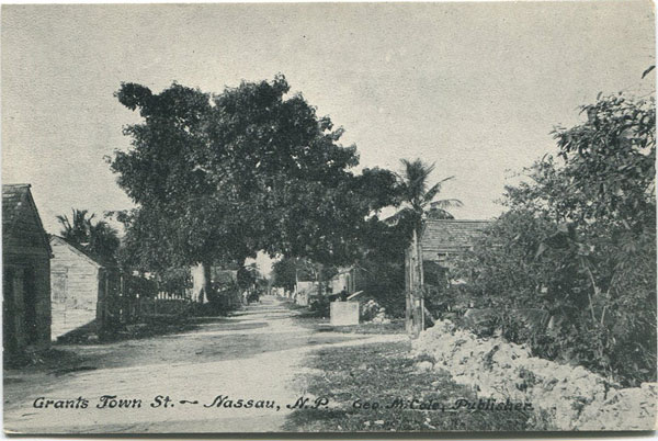 GEO. M COLE Grants Town St., Nassau, N.P.