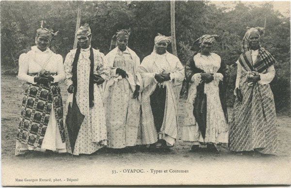MME GEORGES EVRARD 33. Oyapoc - Types et Costumes