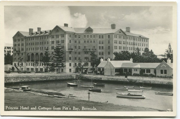 WALTER RUTHERFORD & A.J. GORMAN Princess Hotel and Cottages from Pitt