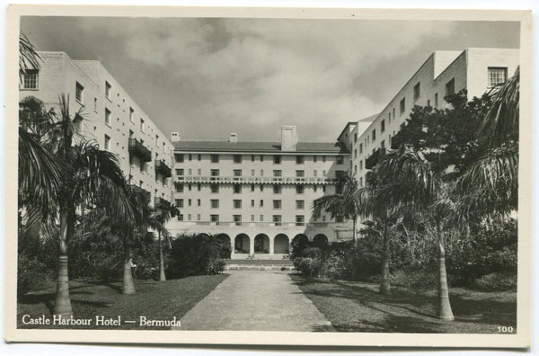 WALTER RUTHERFORD & A.J. GORMAN Castle Harbour Hotel, Bermuda. - No 100