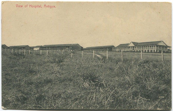 JOHN R. ANJO View of Hospital, Antigua