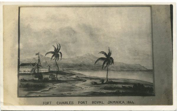 ANON Fort Charles Port Royal Jamaica, 1864
