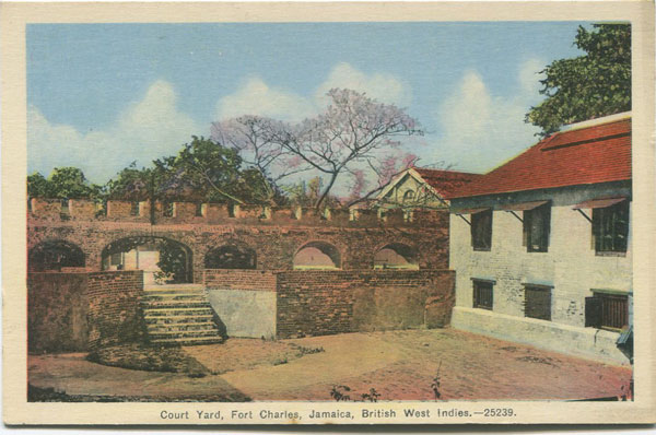 PECO Court Yard, Fort Charles, Jamaica, British West Indies. 25239