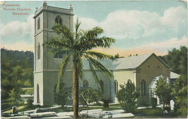 S. NELMES Pembroke Parish Church, Bermuda