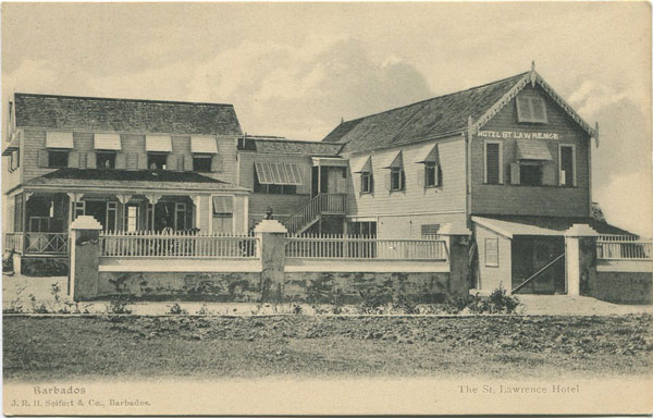 J.R.H. SIEFERT & Co Hotel St Lawrence. Barbados.
