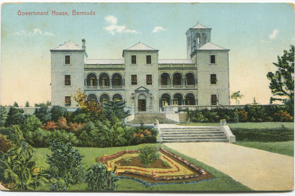 WM. WEISS & CO Government House, Bermuda.