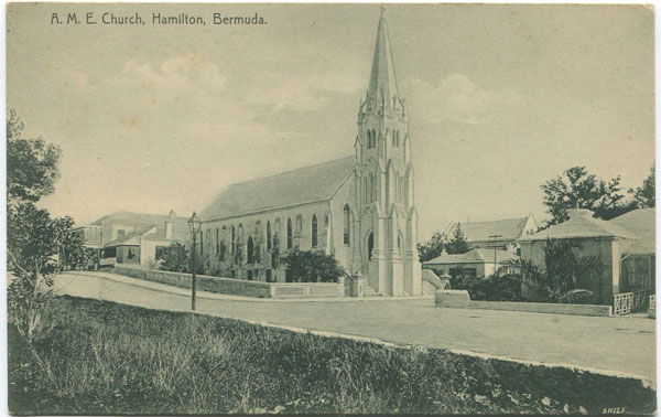 J.H. BRADLEY & CO A.M.E. Church, Hamilton, Bermuda - No 101