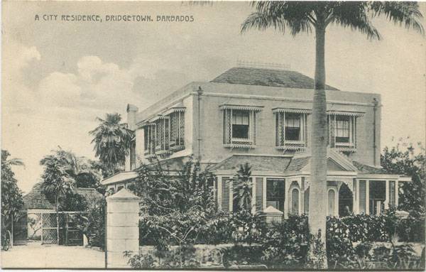 W.L. JOHNSON & CO A City Residence, Bridgetown, Barbados. No. 18