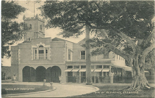 COLLINS & CO Type of Residence, Barbados