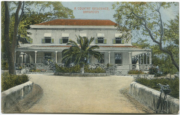 W.L. JOHNSON & CO A Country Residence, Barbados - No 7