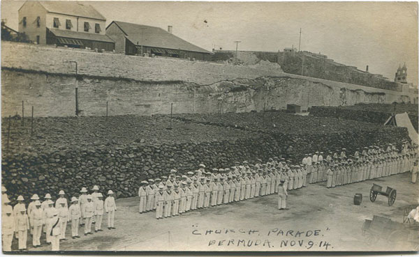 ANON Church Parade Bermuda Nov 9 1914