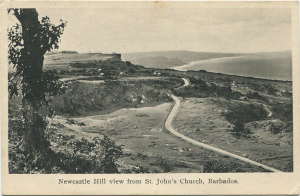 H.W. PARKINSON Newcastle Hill view from St John