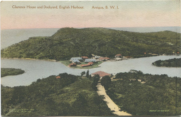 THE ALBERTYPE CO Clarence House and Dockyard, English Harbour. Antigua, B.W.I.