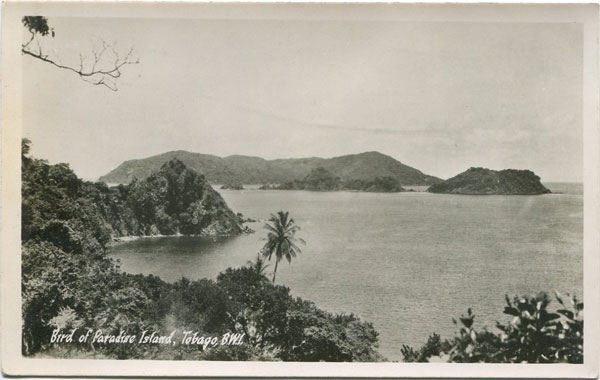 H.O. THOMAS Bird of Paradise Island, Tobago, B.W.I.