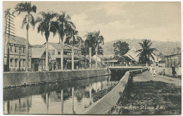 PETER & CO Castries River. St Lucia B.W.I.