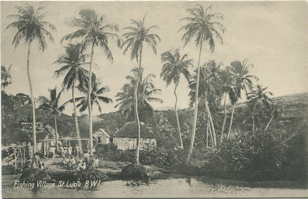 PETER & CO Fishing Village. St Lucia B.W.I.