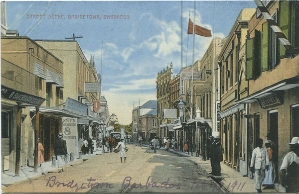 W.L. JOHNSON & CO LTD Street Scene, Bridgetown, Barbados - No 2