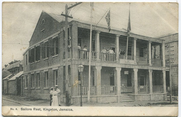 ANON No. O. Sailors Rest, Kingston, Jamaica