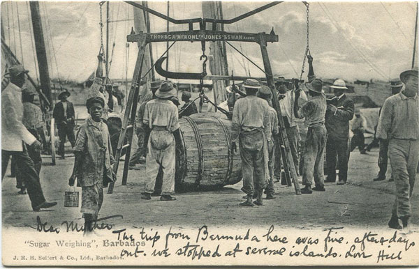 J.R.H. SIEFERT & CO Sugar Weighing, Barbados