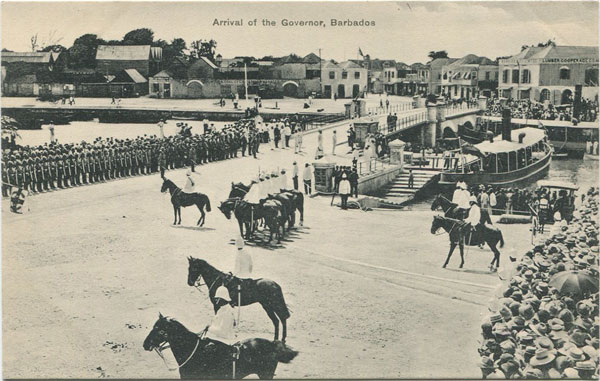 W.L. JOHNSON & CO LTD Arrival of the Governor, Barbados - No 48