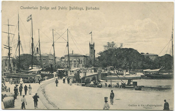 COLLINS & CO Chamberlain Bridge and Public Buildings, Barbados