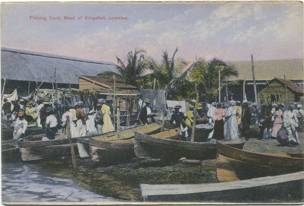 H.S. DUPERLY Fishing Yard, West of Kingston, Jamaica
