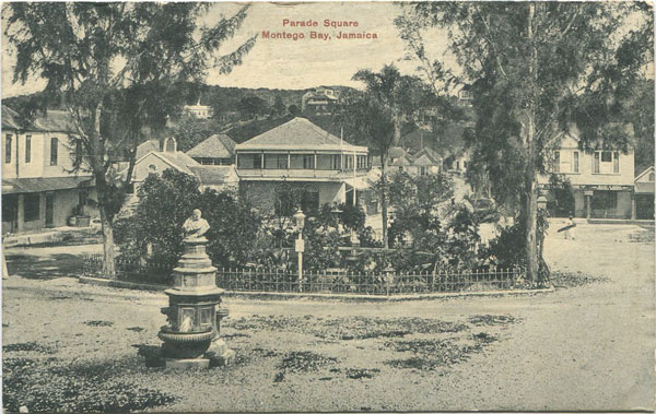 C.M. CLARK & CO Parade Square Montego Bay, Jamaica.
