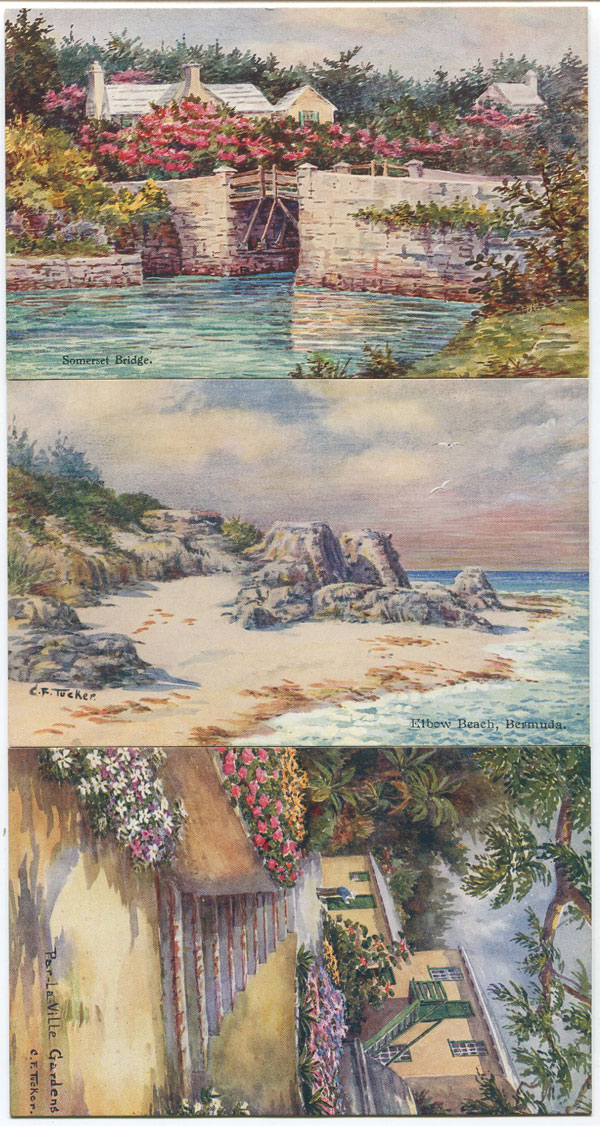 ETHEL & C.F. TUCKER Views of Bermuda