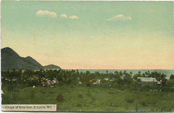 CLARKE & CO Village of Gros Islet, St Lucia, W.I. - No 4