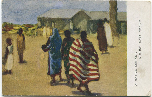 VALENTINE & SONS A Native Market, British East Africa