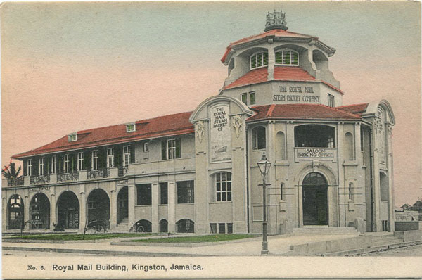 ANON Royal Mail Building, Kingston, Jamaica - No 6
