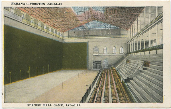 ANON Spanish Ball Game, Jai-Alai