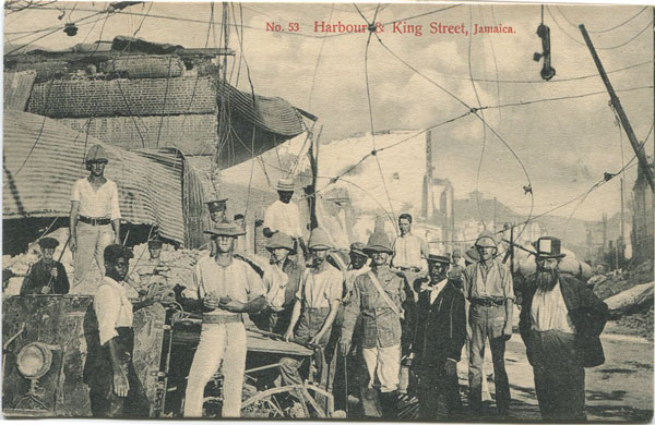 J.W. CLEARY No. 53 Harbour & King Street, Jamaica.