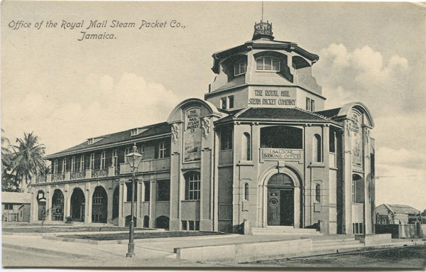 NATHAN & CO LTD Office of the Royal Mail Steam Packet Co., Jamaica