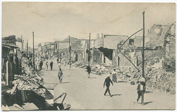 ANON City of Kingston destroyed on the 14th January 1907 by the Earthquake