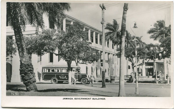 BERNARD PINNINGTON Jamaica Government Buildings