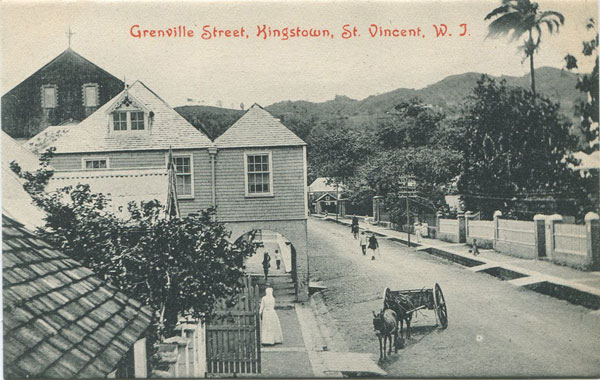N.C. CROPPER Grenville Street, Kingstown, St Vincent, W.I.