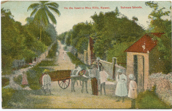 WALTER K. MOORE On the Way to Blue Hills, Nassau, Bahama Islands.