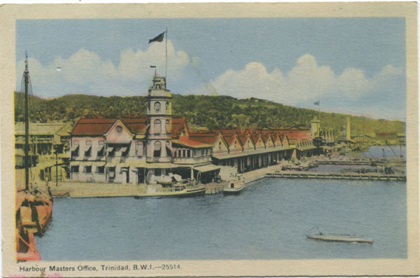 PECO Harbour Masters Office, Trinidad, B.W.I. - 25514