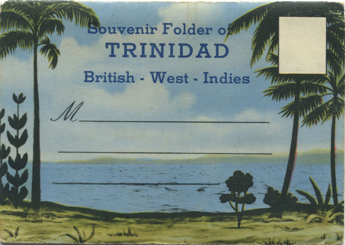 PECO Souvenir Folder of Trinidad British West Indies - No 25555